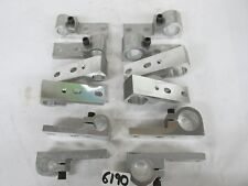 "12 Pieces - Total Aluminum Hangers - 3/8"" Oval Mounting Holes- 4 7/8"" & 5 1/2""L"