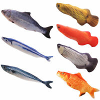 Pets Cat Artificial Fake Fish Interactive Chew Toy Teeth Cleaning Claws Pet Toy