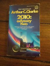 Arthur C Clarke 2010: Odyssey Two 1st paperback edition 1984 - 2001 space odysse