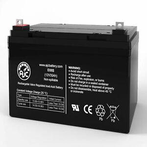 Pride Mobility SC609 Victory 9 Three Wheel 12V 35Ah Replacement Battery