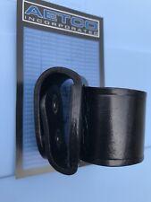 Aetco Inc. Leather Flashlight Holder, Black Plain, D Cell, Streamlight, Maglite