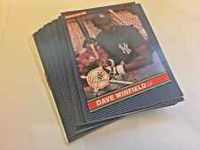 1986 Donruss Baseball Base Lot 30 Cards Puzzle Cards Stars Included
