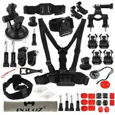 PULUZ 45 in 1 Accessories Ultimate Combo Kit Chest  Head Strap for GoPro HERO