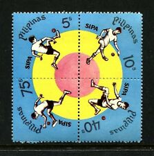 Philippines 1343-1346a block,MNH.Michel 1214-1217. Sipa ball-game,1978.