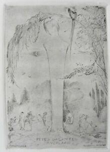 Alberto MARTINI (Oderzo Treviso 1876–Milano 1954) FETES GALANTES - VERLAINE