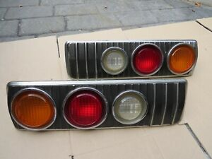 Mazda rx3 R/H L/H tail light coupe sedan rare htf rotary vintage 808 taillights
