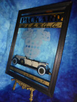 Vintage PACKARD Ask The Man Who Owns One! ADVERTISING BAR MIRROR Car Automobilia