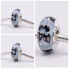 Pandora Murano Glass Charm Blue Butterfly Kisses bead Stamp S925 ALE 791622 New