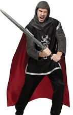 Mens Adult Deluxe Medieval KNight Renaissance Crusader Costume - Fast Ship -