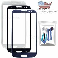 Front Screen Glass Lens Replacement For Samsung Galaxy S3 I9300 Repair Tools Kit