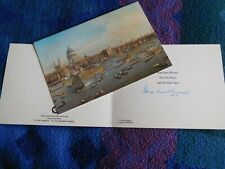 More details for denis and margaret thatcher – 2 hand signed christmas cards
