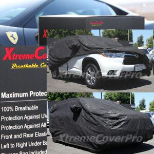 2013 Toyota Highlander Breathable Car Cover w/MirrorPocket
