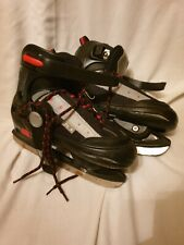 SFR Ice Skates Size UK  4-7 Black and Red