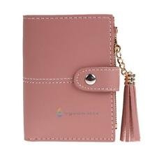Leather Zip Wallet Fashion Women Clutch Card Holder Coin Purse Small Handbag Bag
