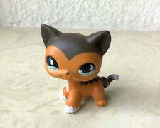 Custom OOAK Savanah LPS Short Hair Cat Littlest Pet Shop Hand Painted Figure
