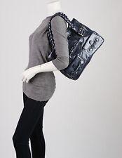 Valentino Metallic Royal Blue Histoire Bag