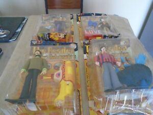 1999 McFarlane Beatles Yellow Submarine lot X 4 Figures (NEW/SEALED!)