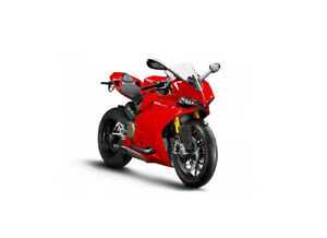 Ducati 1199 Panigale in Red (1:18 scale by Maisto 11092R)