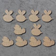 BEE EMPAVESADO x10-Verano De Madera Craft empavesado espacios en blanco y signos