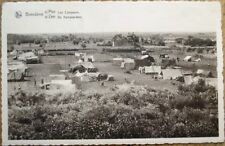 Bredene/Breedene West Flanders, Belgium 1947 Postcard: Camping/Camp Site
