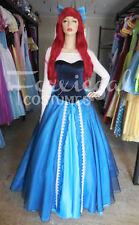 Ocean Princess Fancy Dress Costume Ariel Inspired Little Mermaid Bookweek 12-14