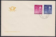 DDR FDC 459 - 460 A mit Tagesstempel Altenburg 09.04.1955, first day cover