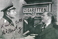 KARL-OTTO ALBERTY Signed In Person 12x8 Photo THE GREAT ESCAPE KELLYS HEROES COA