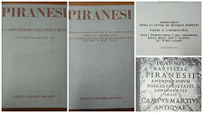 Piranesi - Il campo di marzio dell'antica Roma + Osservazioni - 2 volumi - 1972