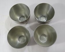Stieff Pewter Reproduction Jefferson Cup - Set of 4