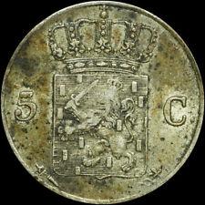 NIEDERLANDE / HOLLAND: 5 Cent 1827, Silber - Utrecht. NEDERLANDE - WILLEM I.