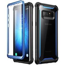 Samsung Galaxy Note 8 caso doble capa construido en cubierta protector de pantalla anti Smash