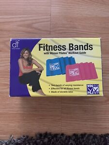Daisy Fuentes Fitness Bands w/ Winsor Pilates  Workout Guide