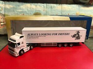 Cararama 1:50 scale Volvo FH 12V Truck H.G.V Recruitment LTD die cast model