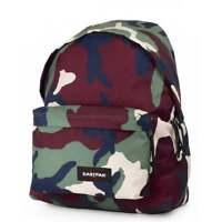 EASTPAK Padded Pak'R Backpack - Camo Green Schoolbag EK620-01R