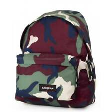 EASTPAK Padded Pak'R Backpack - Camo Green Schoolbag EK620-01R **Free Haribo