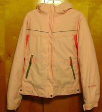girls pink ski coat