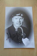 Harpo autógrafo signed 10x15 cm postal S/W