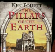 Ken Follett The Pillars Of The Earth Board Game New with Imperfections