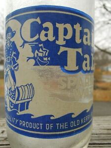 Captain's Table Sparkling Water - Old Kerry Beverage Co. - Ma. - ACL Soda Bottle