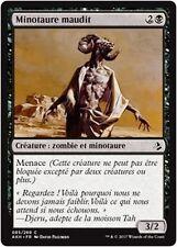 MTG Magic AKH - (x4) Cursed Minotaur/Minotaure maudit, French/VF