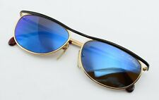 CARL ZEISS Sunglasses Mod 9394 4200 HM3 Blue Mirror Sunglasses Gold Black NOS