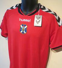 NWT 14-15 Red Hummel CD Tenerife Football Shirt Training Jersey Maglia Camisa M