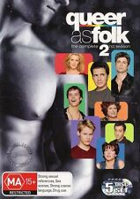QUEER AS FOLK US Series: SEASON 2 : NEW DVD