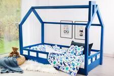 Lit cabane, Lit pour enfants,lit d'enfant,lit cabane avec barrière, couleurs