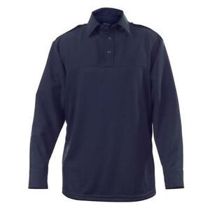 Elbeco UV1 L/S Undervest Shirt, Dark Navy UVS101