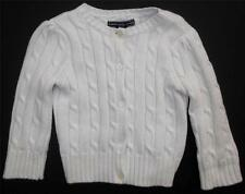 American Living Ivory Button Front Cardigan Sweater-Girls-Sz 12M