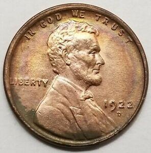 U.S. 1922-D Lincoln Wheat Cent - 1c - Key Date