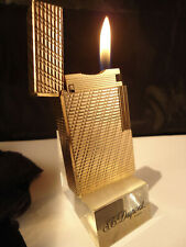 S. T. Dupont Line 1 LARGE Lighter - Gold Plated - Serviced - Feuerzeug/Briquet