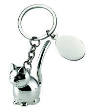Portachiavi Gatto Animali Cats Bomboniera incisione omaggio mod. 7566