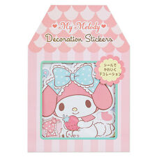 NEW Sanrio My Melody decoration stickers 12 pieces Kawaii F/S